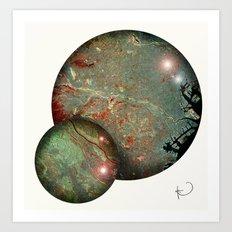 Tokyo Balls Art Print