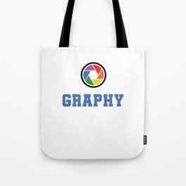 I Love Photography Photos Photographer Pictures Camera Cameraman Gift Tote Bag