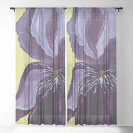 Iris Sheer Curtain