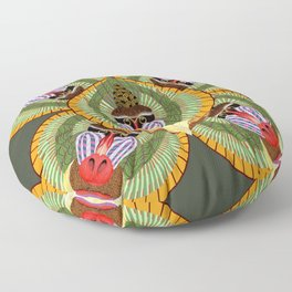 Mandrillus Sphinx Floor Pillow