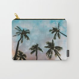 Palms Above (Color) Carry-All Pouch