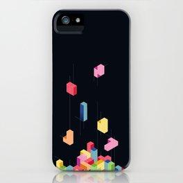 Tetrisometric iPhone Case