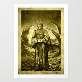 Dark Victorian Portrait Series: The End of Carcosa Art Print