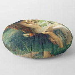 Spring by Pierre Auguste Cot Floor Pillow
