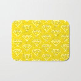 DIAMOND ((bumblebee)) Bath Mat
