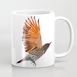 Flying bird Flicker Geometric Nature Coffee Mug