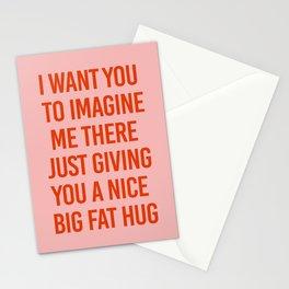 Big Fat Hug Stationery Cards