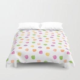 Colorful berlingots Duvet Cover