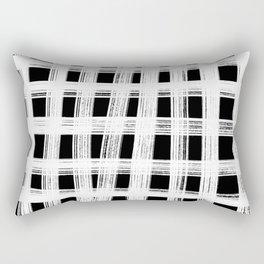 White cage Rectangular Pillow