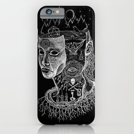 Secrets of Your Skull iPhone Case