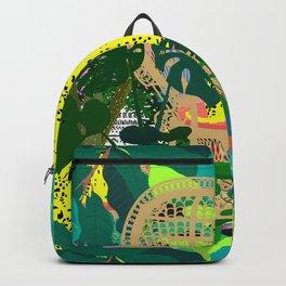 Maximalist Boho Jungle Backpack
