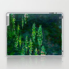 Claude Monet Impressionist Landscape Oil Painting Waterlilies Laptop & iPad Skin