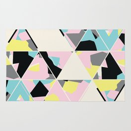 triangle no.3 / with love Rug