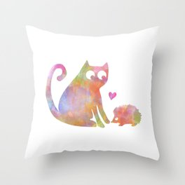 Love is just love Throw Pillow