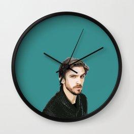 Dan Stevens 7 Wall Clock