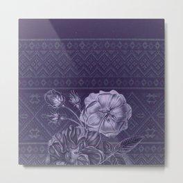Flower - Argyle Metal Print