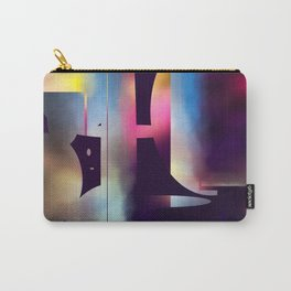 60s Mod Spaceship Abstract Carry-All Pouch
