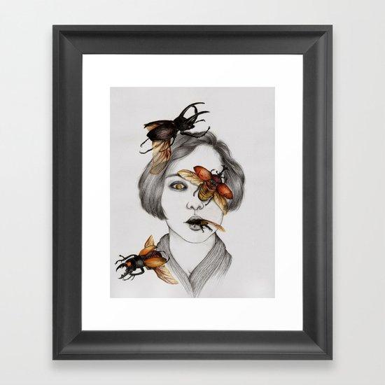 Disease III Framed Art Print