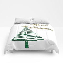Merry Christmas Tree Comforters