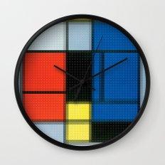 Lego: Piet Mondrian no.2 Wall Clock