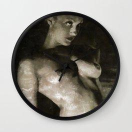 Vintage Nude Wall Clock