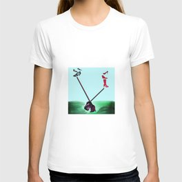 Relaxing in May with May - Shoes Stories T-shirt