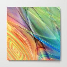 multicolored abstract no. 52 Metal Print
