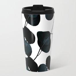 Dark Leaves #society6 #artforsale Travel Mug