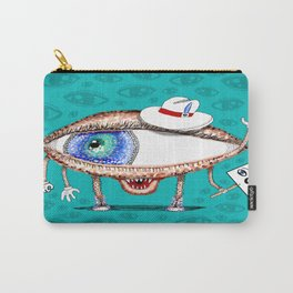 Pointillism Eye Guy Carry-All Pouch