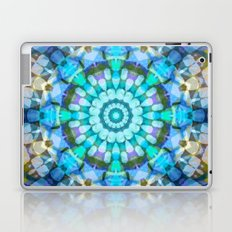 Into the Blue Kaleidoscope Laptop & iPad Skin