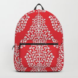 SPIRIT red white Backpack