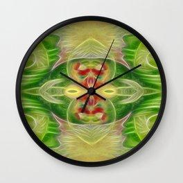 Tarot card  III - The Empress Wall Clock