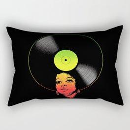 Afrovinyl (Rasta) Rectangular Pillow