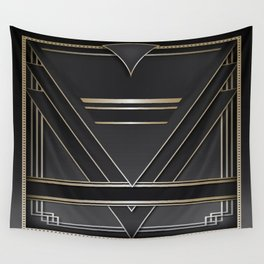 Art deco design IV Wall Tapestry