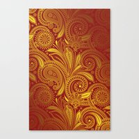 fancy Canvas Prints featuring Fancy by Ale Ibanez