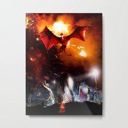 Evil soul Metal Print