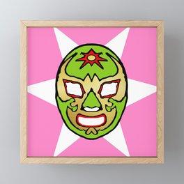 la luchador Framed Mini Art Print