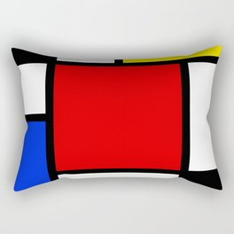 Neo-Plasticism 2 Rectangular Pillow