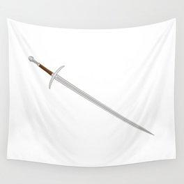 Knights Sword Wall Tapestry