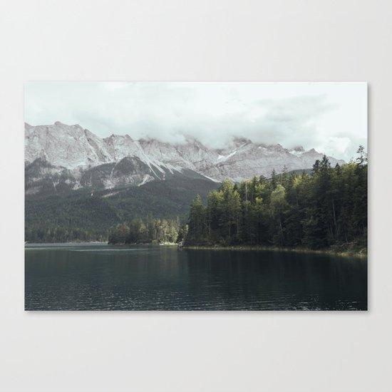 Slow days - Landscape Photography Canvas Print