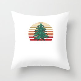 Pine Tree Nature Lovers Trees Planting Forest Environmentalist Gift Throw Pillow