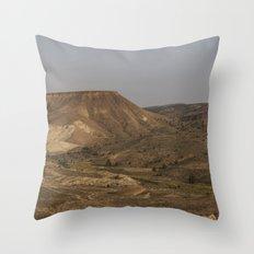 Mascall Formation, Oregon - Panorama Throw Pillow