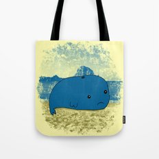 Why such a lonely beach? Tote Bag