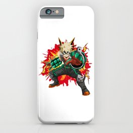 Katsuki Bakugo BOOM - My Hero Academia iPhone Case