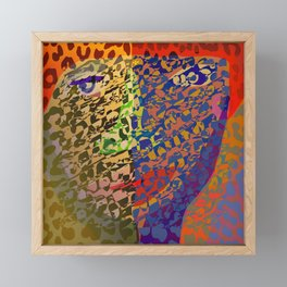 Animal Print Power Framed Mini Art Print