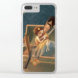 The Steadfast Tin Soldier Clear iPhone Case