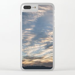 """Sunrise Horizon 1"" by Murray Bolesta Clear iPhone Case"