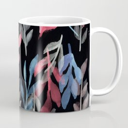 180726 Abstract Leaves Botanical Dark Mode 2 Coffee Mug