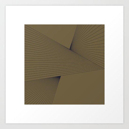 #305 Tension – Geometry Daily Art Print