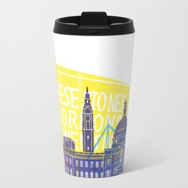 Cardiff skyline pop Travel Mug